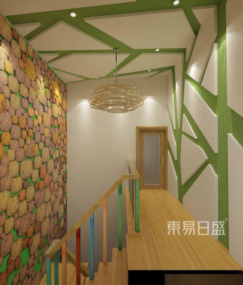 东南亚风格-楼梯