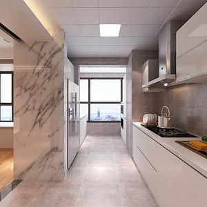 现代风格-厨房