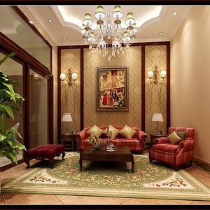 绿地香颂 法式浪漫 客厅