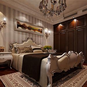 大都会欧式古典风格卧室装修效果图