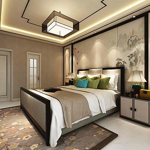 阳光小区北欧风格卧室装修案例效果图