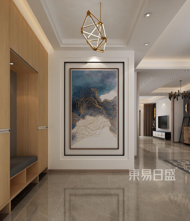新世界麗樽 現代簡約 門廳裝飾