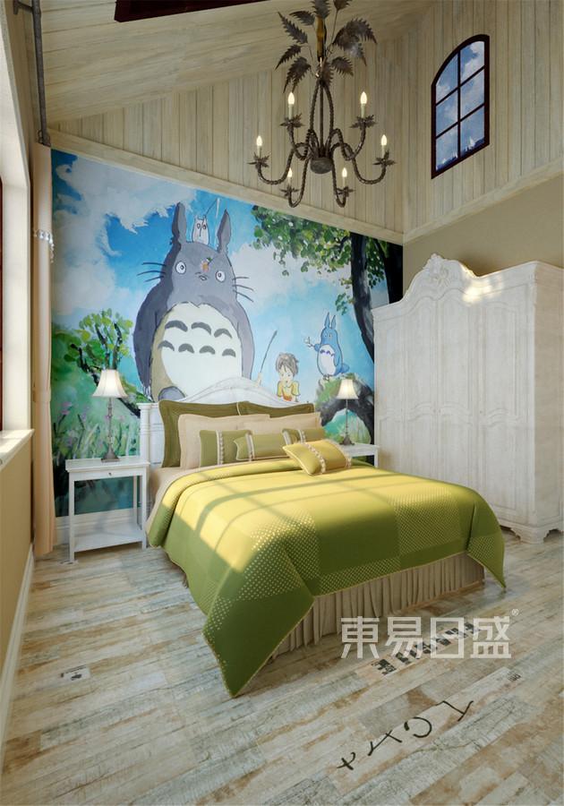 320平森林逸城混搭风格儿童房装修效果图
