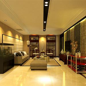 泰达国际公馆-现代中式-160平米