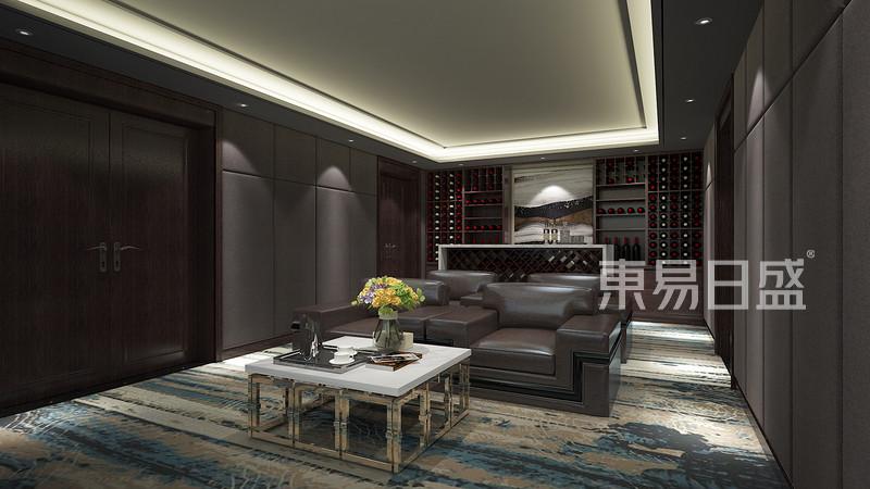 新中式 - 榕园新中式风格影音室装修效果图