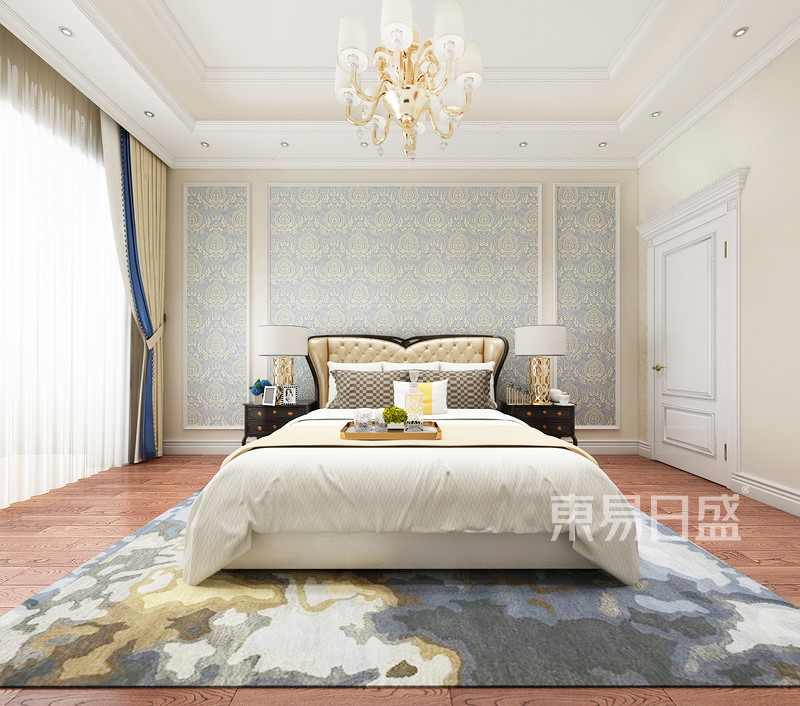 欧式古典 - 奥特莱斯欧式风格老人房装修效果图