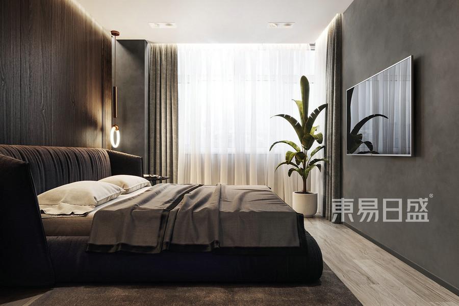 三居室-现代前卫-效果图