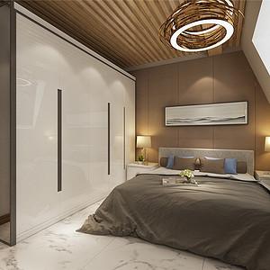 香格里拉简欧风格三层卧室装修效果图