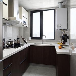 万达西地130㎡港式轻奢厨房