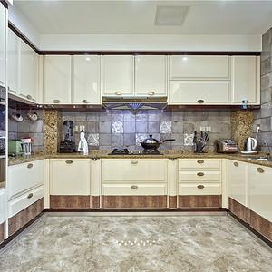 天成一品现代简约厨房装修效果图