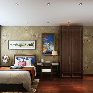 香格里拉简欧风格一楼保姆房装修效果图