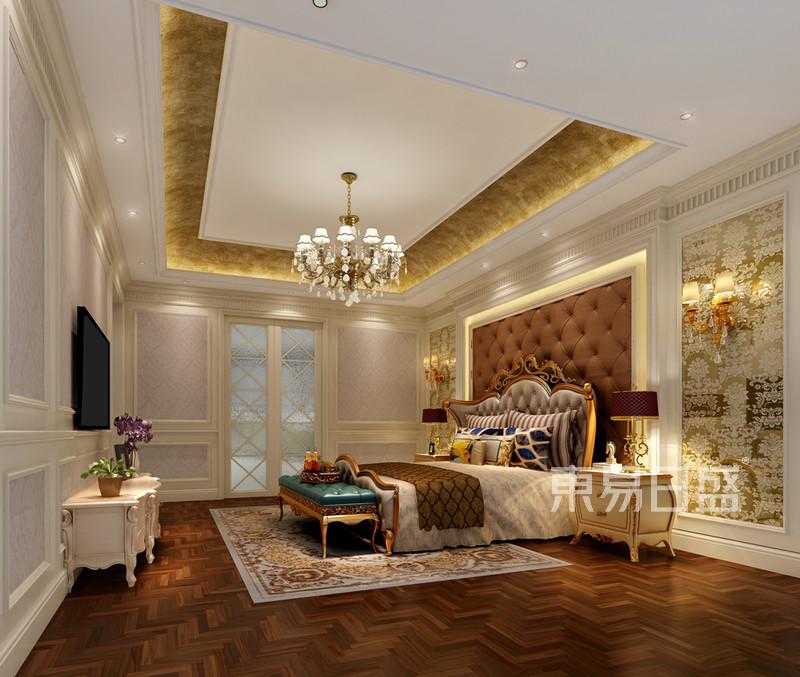 欧式主卧室装修效果图 新天鹅堡