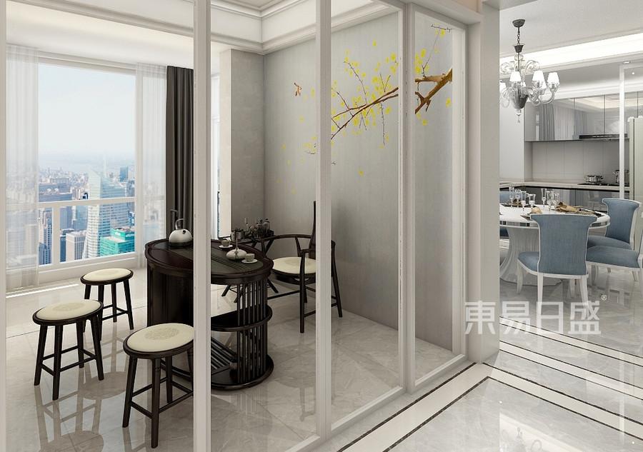 四居室-新中式-效果图