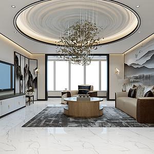 凤凰城- 193平方米-新中式风格