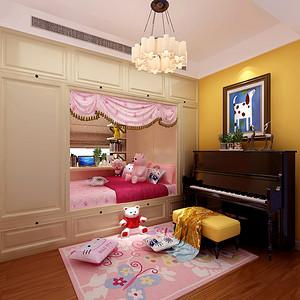 北欧风格儿童房设计效果图