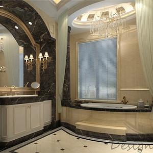 清池流水310平米欧式古典装修效果