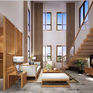 碧桂园260平米顶跃新东方主义风格设计