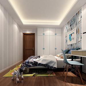波托菲诺纯水岸-现代简约风格-儿童房效果图