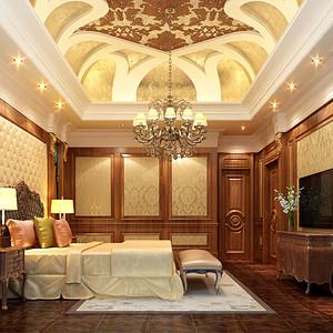 南丰御园 欧式古典 卧室