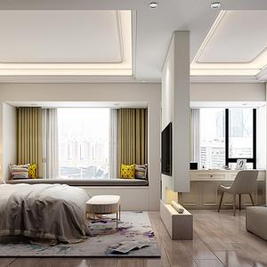 深圳卧室装修效果图-东易日盛装饰