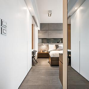 太古城-现代简约风格-卧室装修效果图