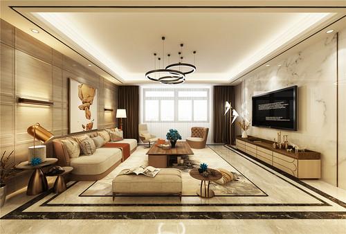 九号别墅-现代风格-200平米