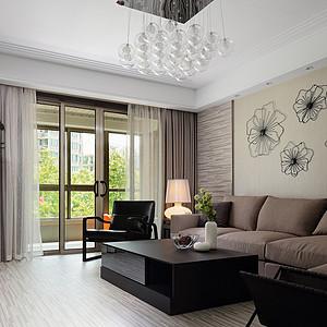 客厅-140平米现代简约风格白金会首页