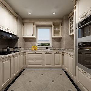 法式装修风格厨房效果图