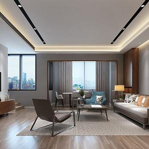 中海珑玺 现代风格 178平米