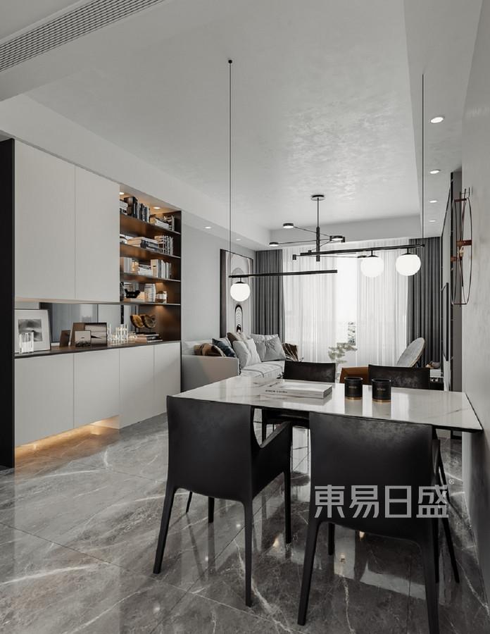宏发前城-现代风格-餐厅效果图