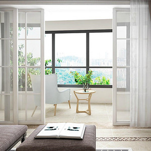 天安花园149平米现代美式装修设计