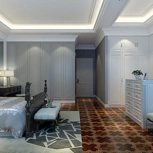 御花园现代轻奢风格卧室装修效果图