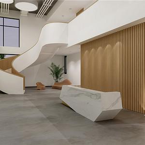 瑞安办公大楼1500平现代休闲装修设计效果图
