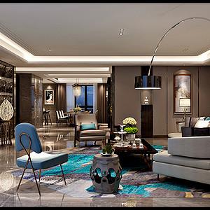 莱安逸辉 港式风格装修效果图 三室二厅一厨四卫 300平米