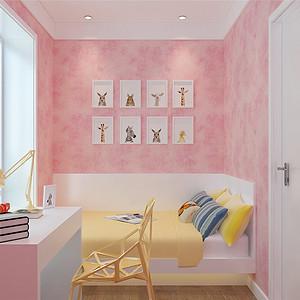 金德园现代简约风格儿童房装修效果图