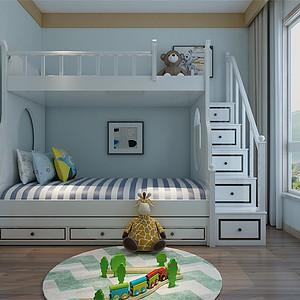 北欧风格-儿童房