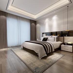 绿地西水东 现代简约 卧室