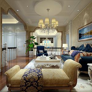姜灶自建别墅300平方法式风格