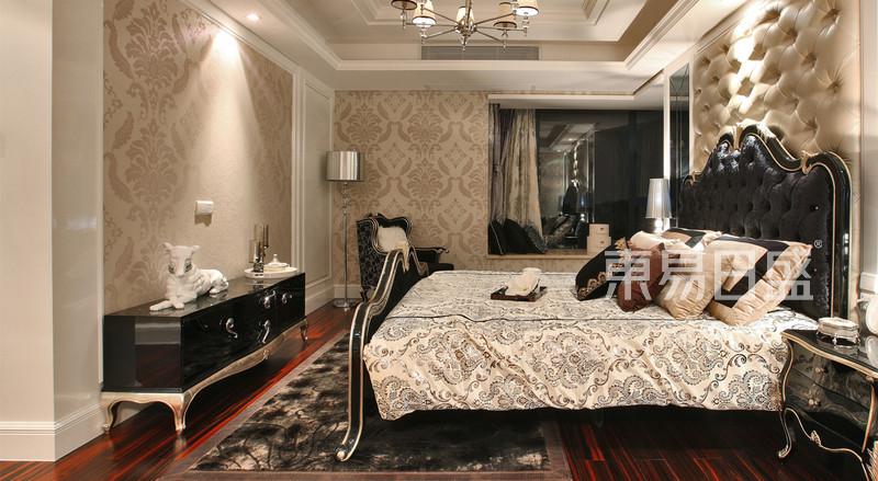 欧式古典 - 永嘉花苑 欧式新古典风格 卧室 装修效果图案例