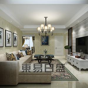 北城枫景-三室两厅-现代简约风格装修案例