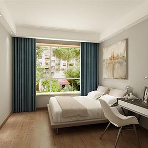 天房天拖现代简约风格卧室装修效果图