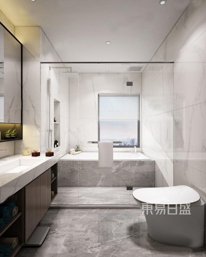 现代简约 - 卫生间装修效果图-东易日盛装饰