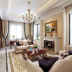 东方豪园800平米欧式装修效果图 东方豪园800平米欧式装修样板间