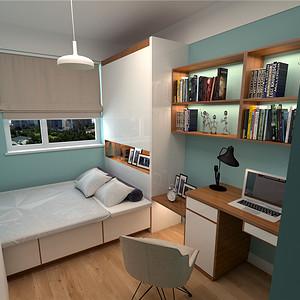 简约风格--书房