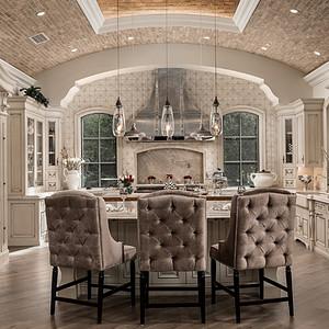 别墅-欧式古典-餐厅