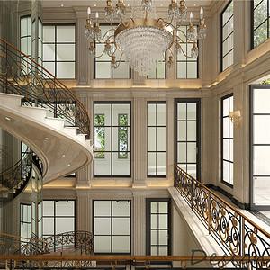 上海建德南郊800㎡欧式别墅装修效果