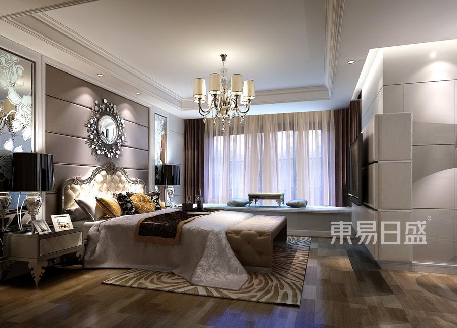 半岛城邦-欧式古典风格-卧室装修效果图