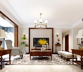 简美装修风格客厅效果图