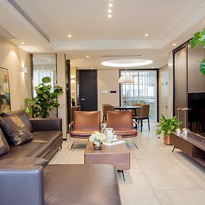 天勤家园120平现代风格实景装修案例