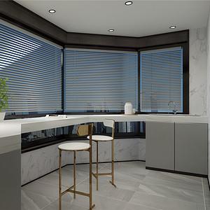 现代风格厨房装修设计效果图